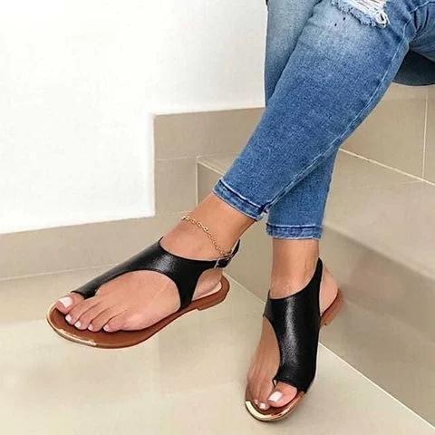 Women Slip On Ring Toe Sandals