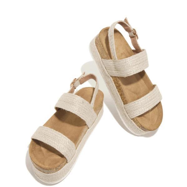 Women's comfortable platform sandals