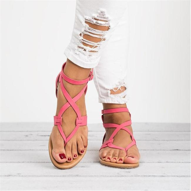 New Style Female Ankle Strap Women Sandals