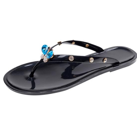 Woman Luxury Flat Flip-flops Summer Outdoor Sandals