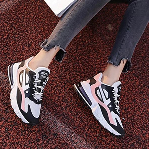 Thread Lace-Up Low-Cut Upper Round Toe PU Flat With Sneakers