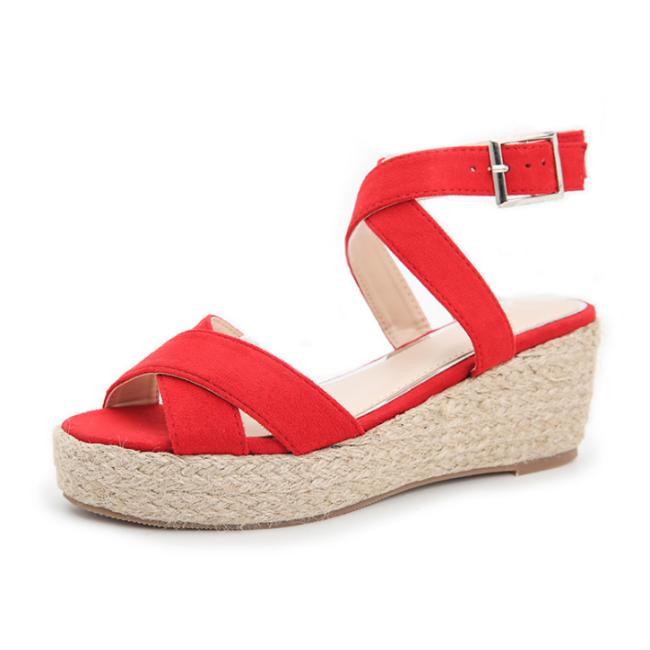 2020 New Fashion Woman Summer Wedge Sandals
