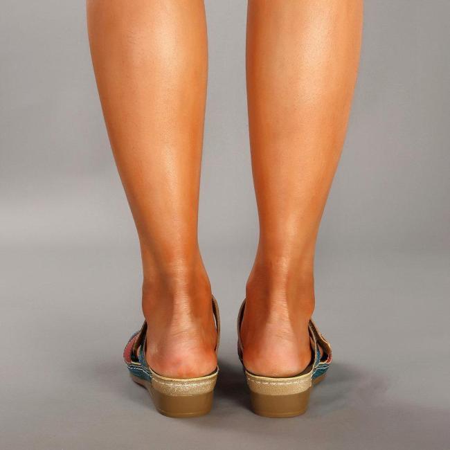 Slip On Comfortable Vintage Sandals