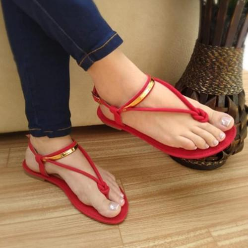 Women's fashion wild flat slippers