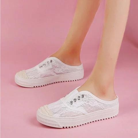 Pi Clue Summer Casual Flat Heel Sandals