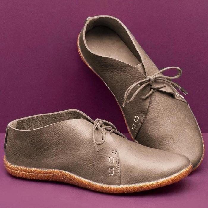 Women'S Lace-Up Flat Shoes