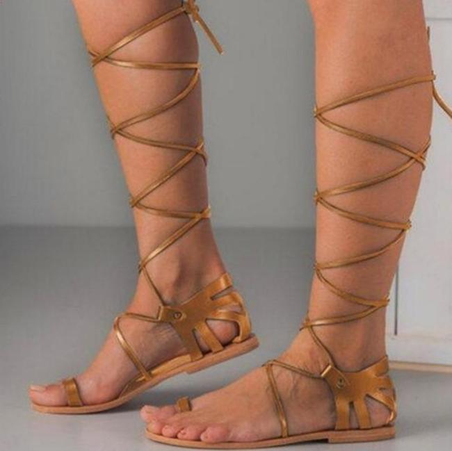 2020 New And Fashional Woman Bandage-style Sandals