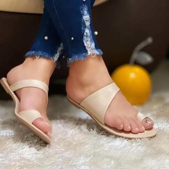Summer Flat Heel Slippers