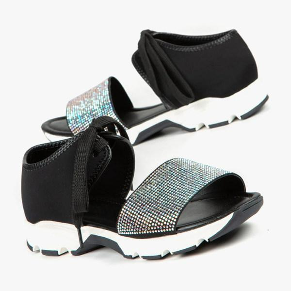 Women's muffin thick bottom casual sports sandals