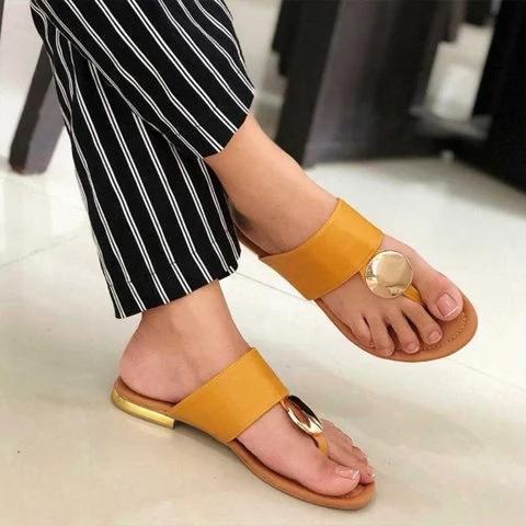Women Casual Slip On Sandals