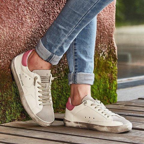 Flat Heel Women Round Toe Fashion Sneakers