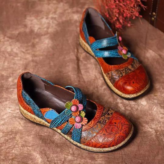 Bohemian Round Toe Casual Date Sandals