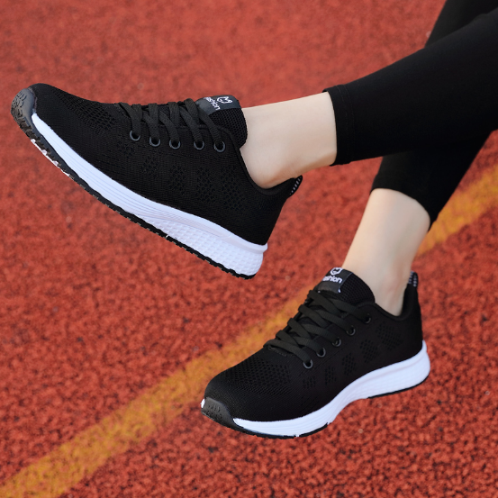 2020 New Fashion Women Flat Casual Sneakers