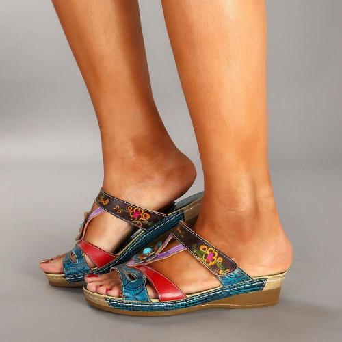 Slip On Comfortable Vintage Sandals