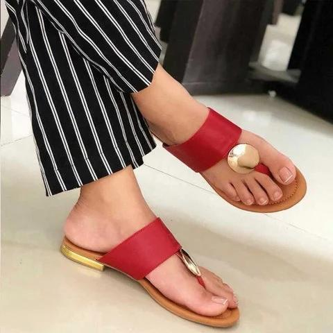 Women Casual Slip On Sandals
