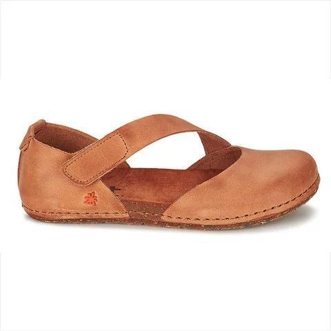 Pi Clue Cowhide Leather Flat Heel Summer Sandals