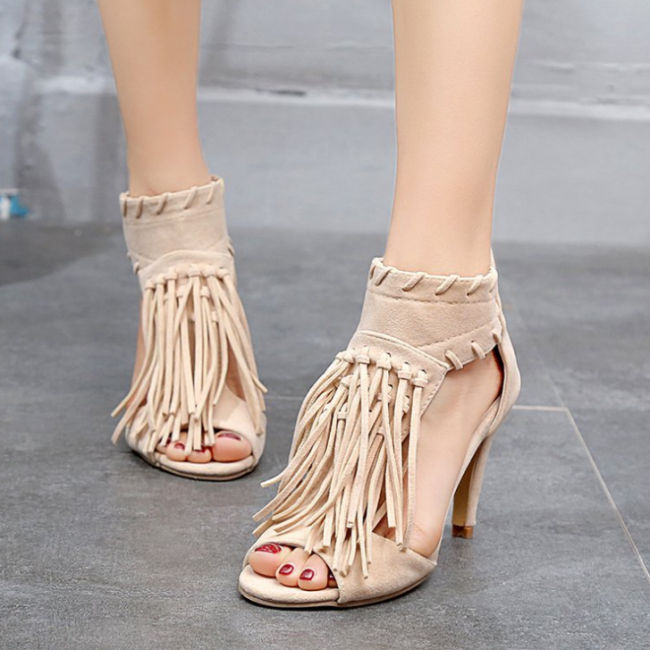 2020 Woman Summer Fashion High Heel Sandals