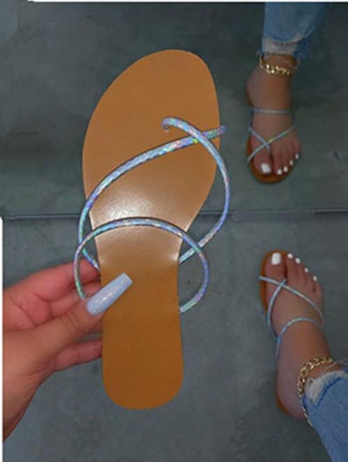 Women fashion flat  comfortable slippers
