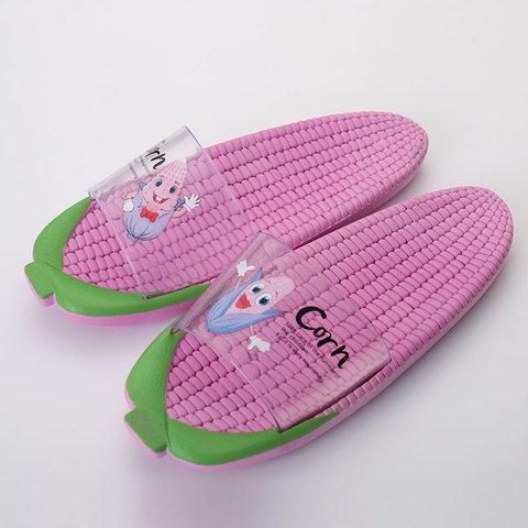 Corn Cartoon Waterproof Slippers