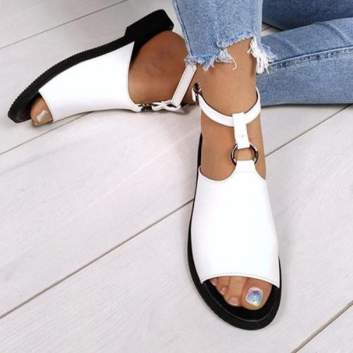 Women's Comfortable Flat Open Toe Sandals