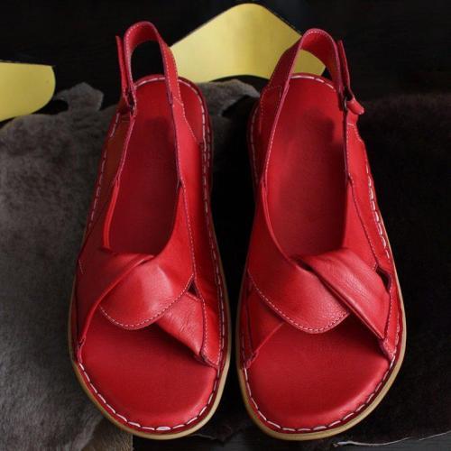 Women Sandals Open Toe Flat Heel Comfy Soft Sole Casual Sandals