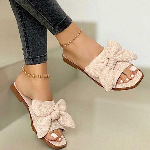 Bow Summer  Slippers