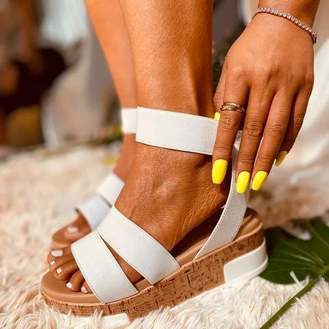 Women Breathable Colorful Espardille Sandal