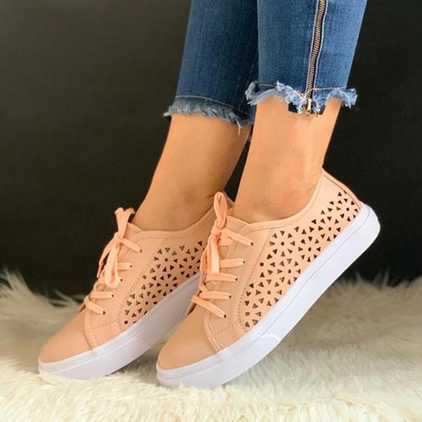Women's openwork versatile sneakers