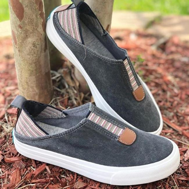 WOMENS SLIP ON SPRING/FALL CASUAL FLAT HEEL LOAFERS
