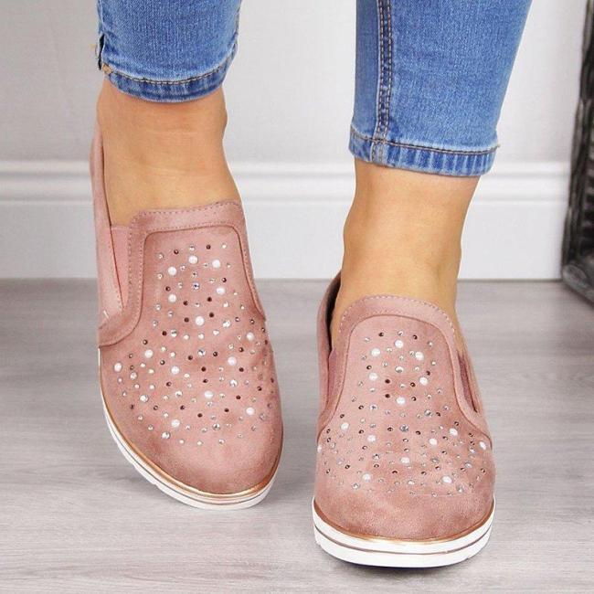 Women Comfortable Slip-On Sneaker Shoes