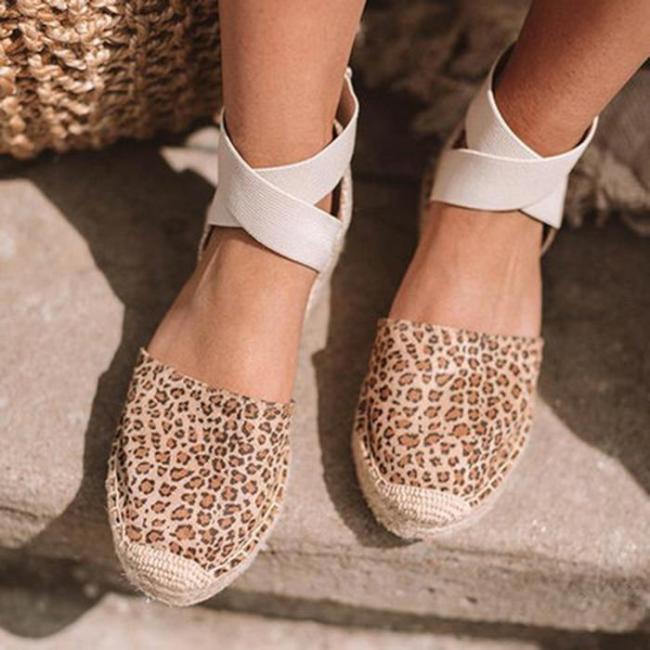 Espadrille Thick Bottom Sandals