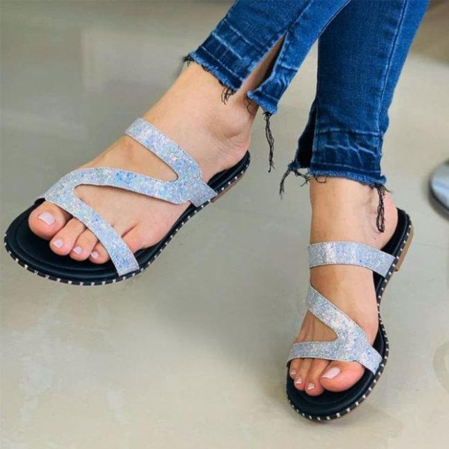 Women Daily Casual Flat Heel Sandals