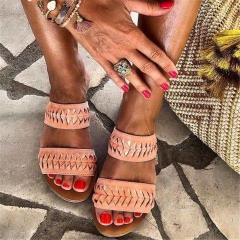 Summer Holiday Comfortable Slip on Sandals