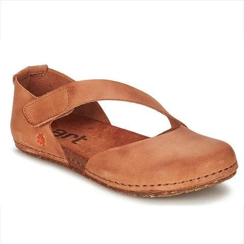 Pi Clue Cowhide Leather Flat Heel Summer Sandals