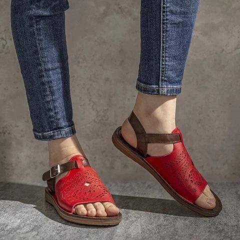 Casual Summer Pu Sandals