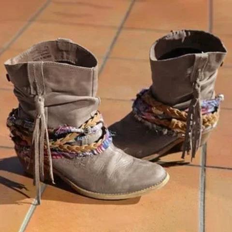 Winter Closed Toe  Boots