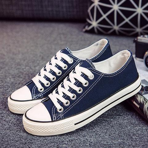 White Slip-On Casual Women's Fashion Sneakers