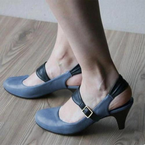 Women's fashion comfortable high heels Sandals