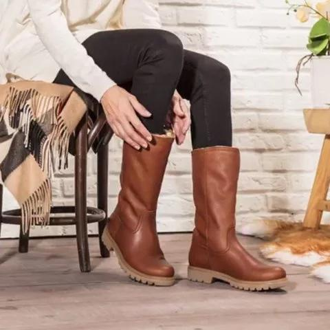 Brown waterproof Warm Winter Boots