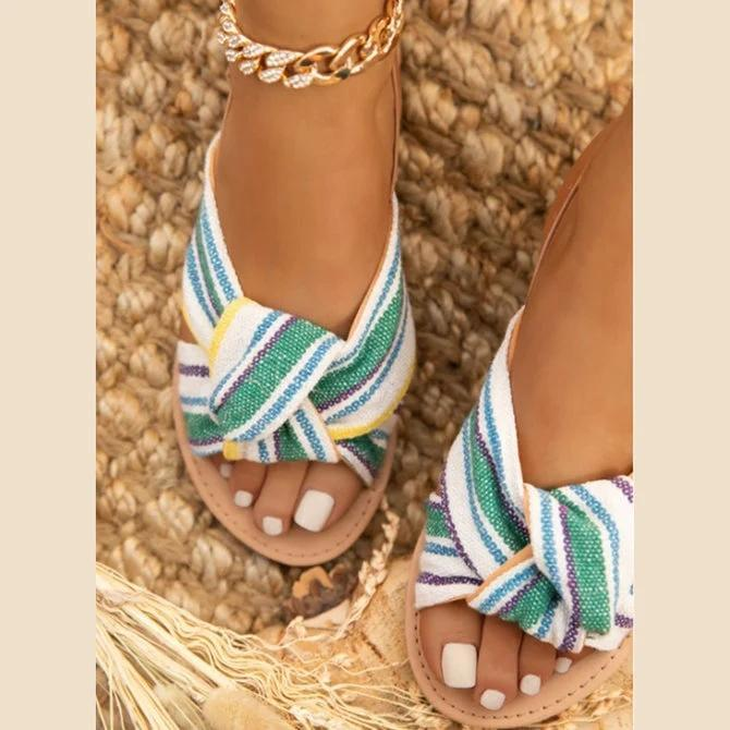 Canvas Daily Summer Sandals