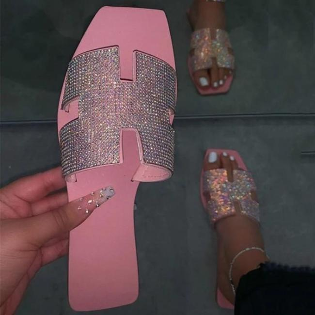 Slip-On Flip Flop Flat With Sweet Slippers