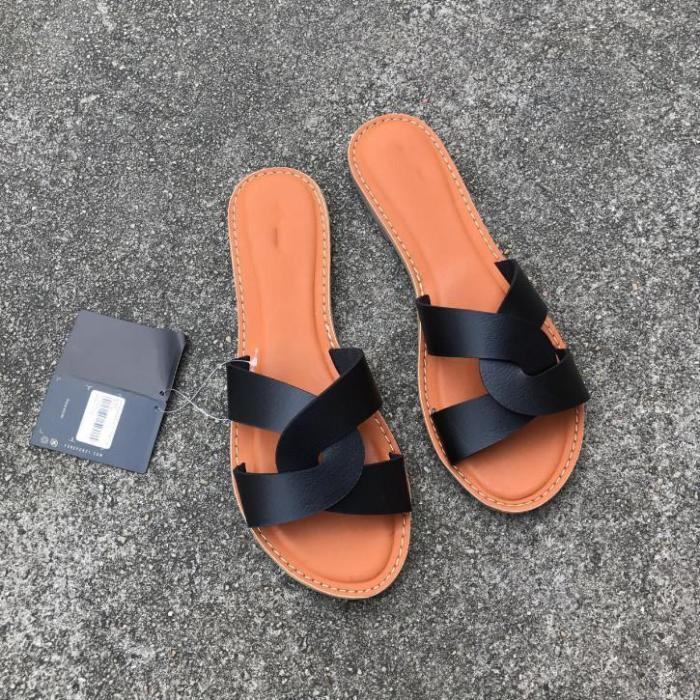 2020 New And Fashional Woman Summer Flat Sandals