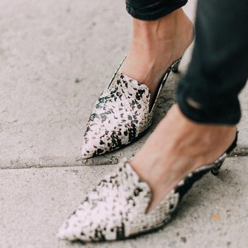 Women'S Fashion Chunky Heel Sandals