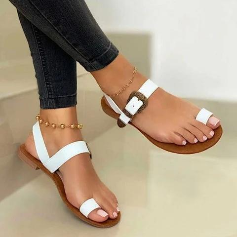 Women Slip-On Open Toe Sandals