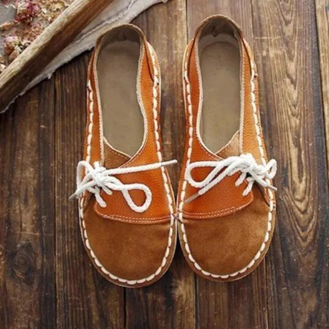 All Season Other Shoes Vintage Round Toe Brown Loafers