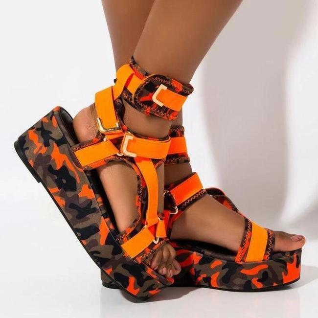 Women Level Up Platform Sandal
