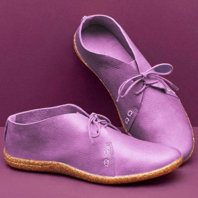 Women'S Lace-Up Flat Shoes
