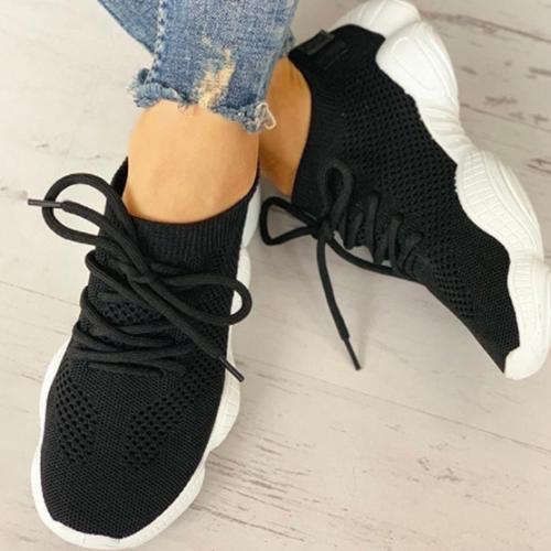 2020 New Fashion Women Vulcanized Casual Mesh Sneakers