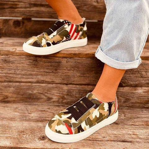 Women Canvas All Seaso Cameo Sneakers