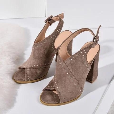Summer Suede Sandals